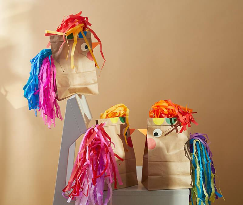 Geschenkverpackung für Ostern basteln – Die verrückten Hühner sind los!