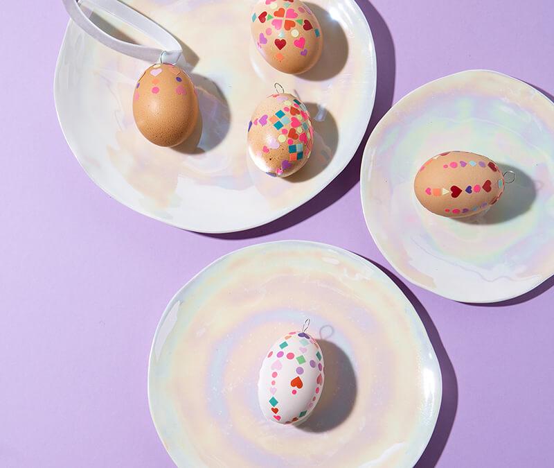 Ostereier basteln: 6 bunte Ideen für Ostern