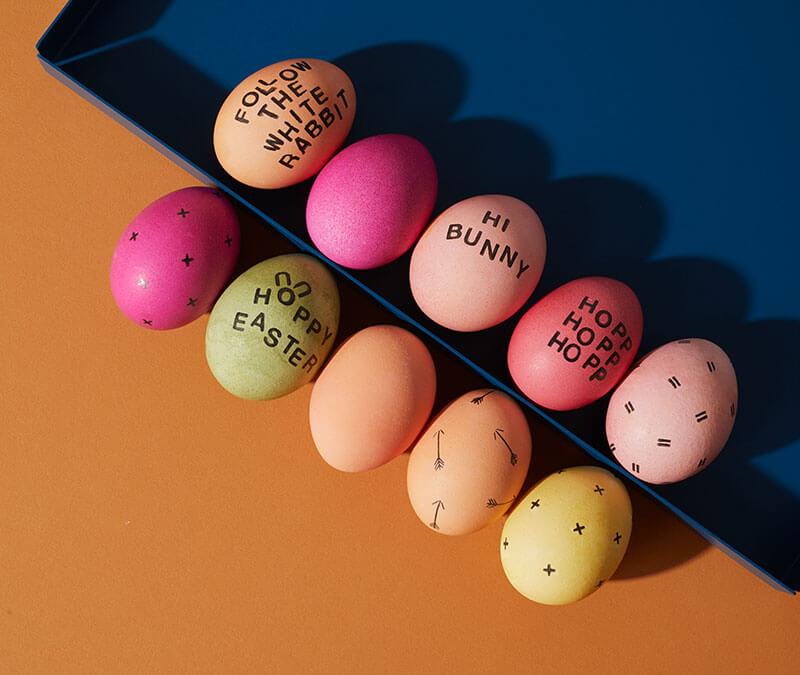 Eierfärben mit Naturfarben leicht gemacht