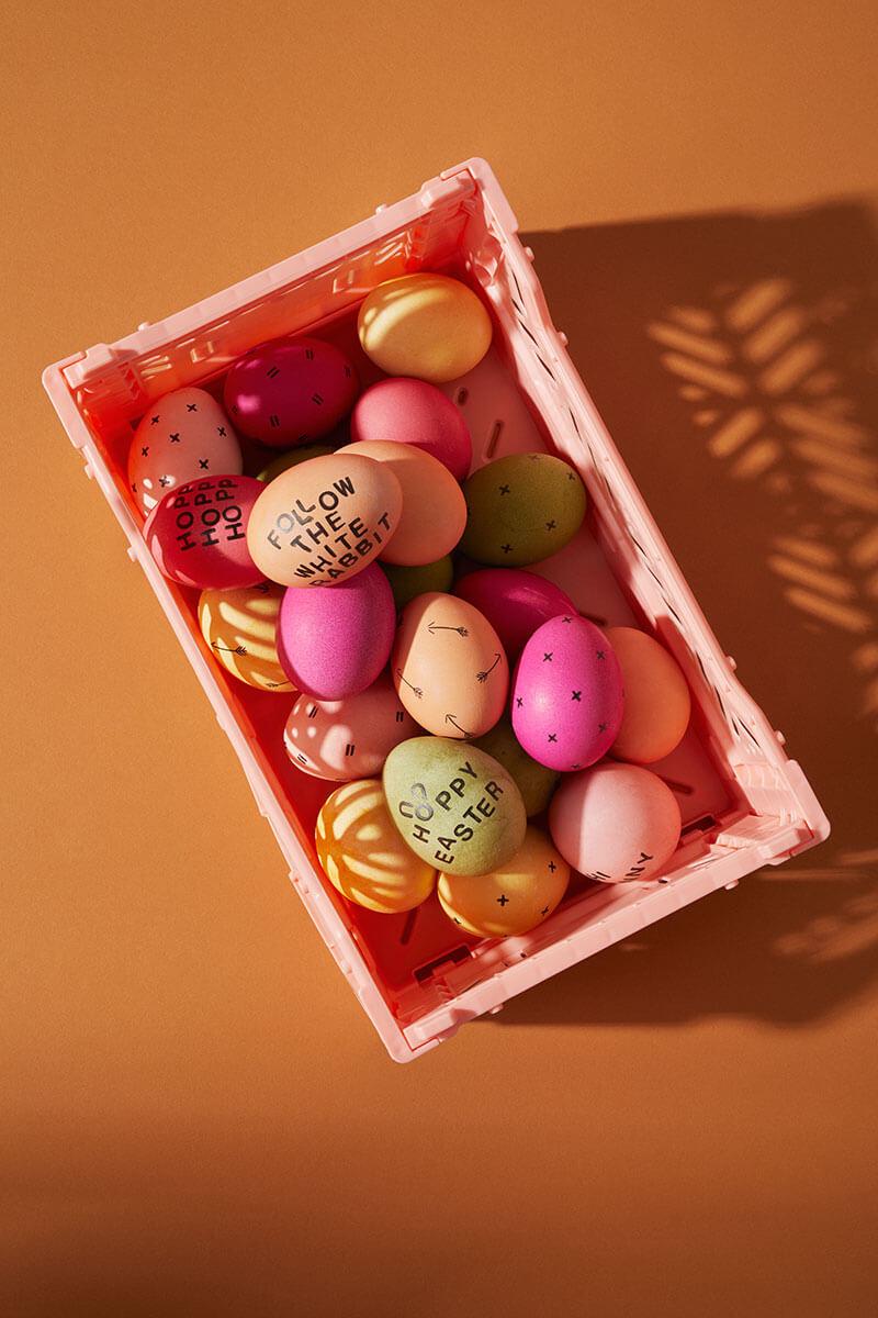 Eierfärben mit Naturfarben
