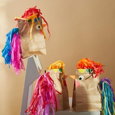 DIY Geschenkverpackung Bastelset: Funky Chicken Geschenktüten