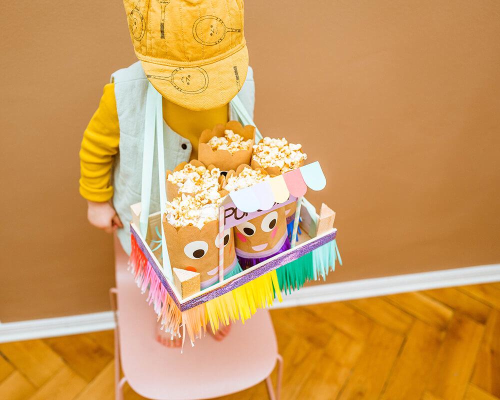 DIY Bauchladen - basteln mit Kindern
