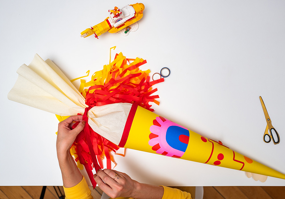 Yellow Submarine Schultüte