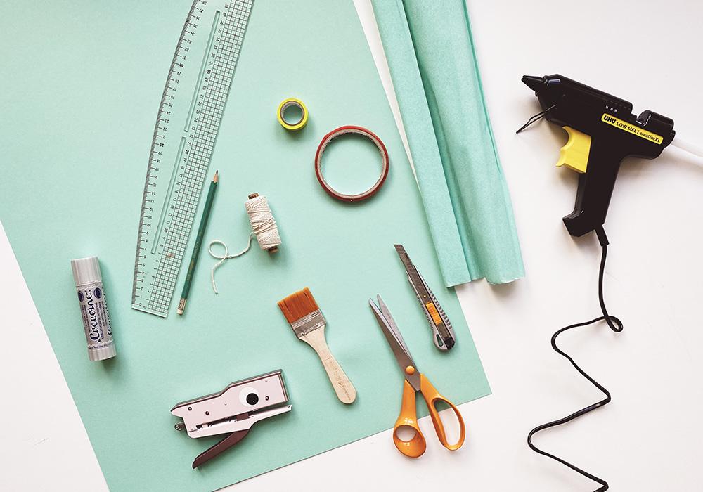 Basis Material für Schultüte basteln