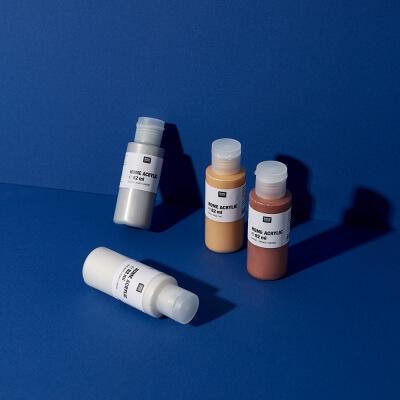 Metallic Acrylfarbe Tiny Bottles