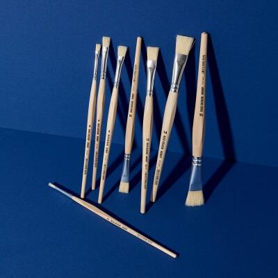Borstenpinselset – 8 Stück