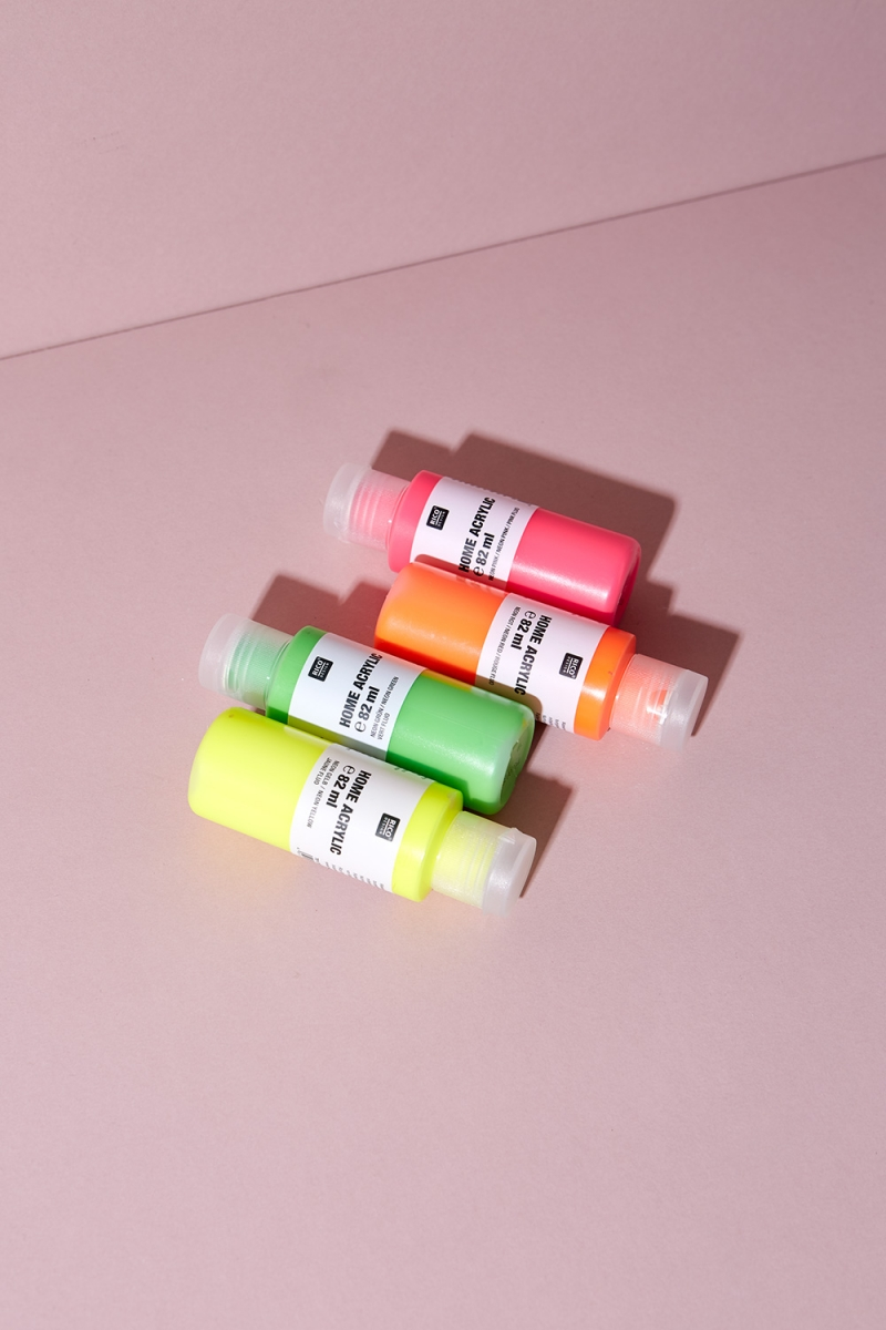 Neon Acrylfarbe Tiny Bottles