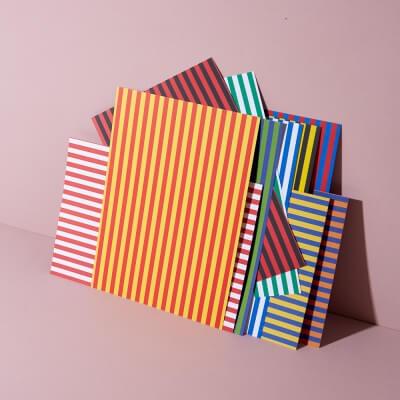 Bastelpapier Zirkusstreifen