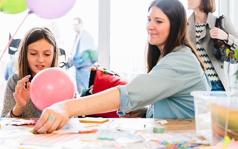 Basteln mit Kindern: 36 einfache und lustige DIY Ideen
