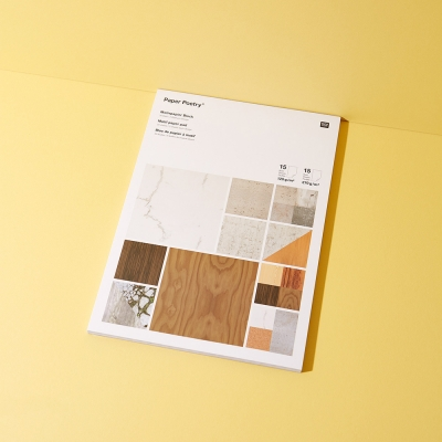 Bastelpapierblock Architektur