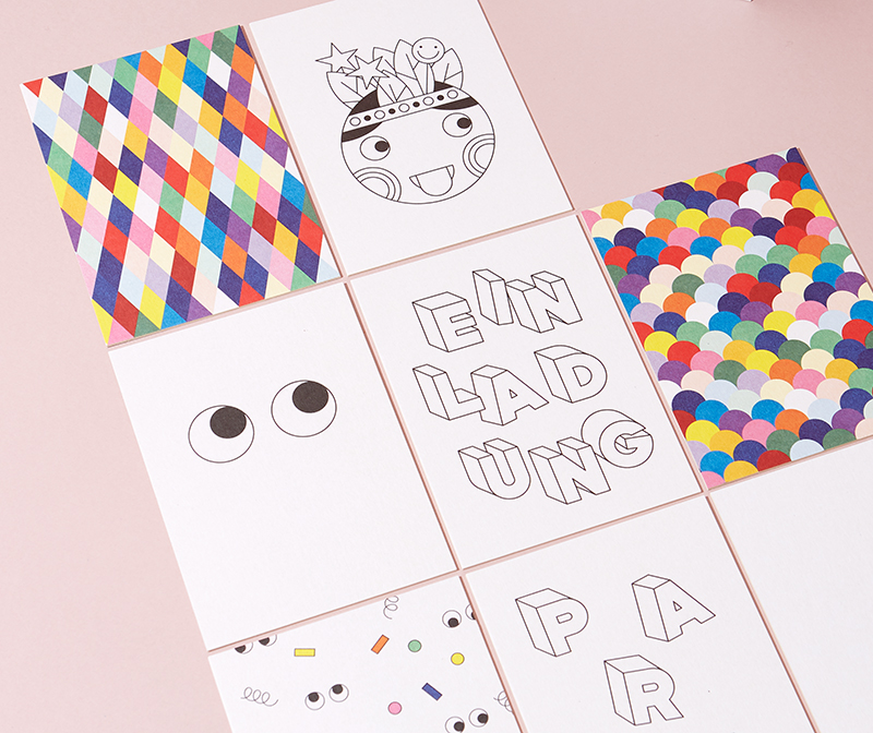 Unsere neuen Einladungskarten Sets für Kindergeburtstage & Co.