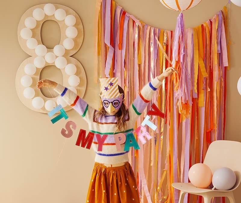 It's my Party: 5 bunte DIY Deko Ideen für den Kindergeburtstag