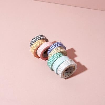 Kariertes Masking Tape