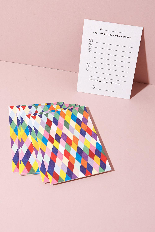 Einladungskarten Set Kindergeburtstag