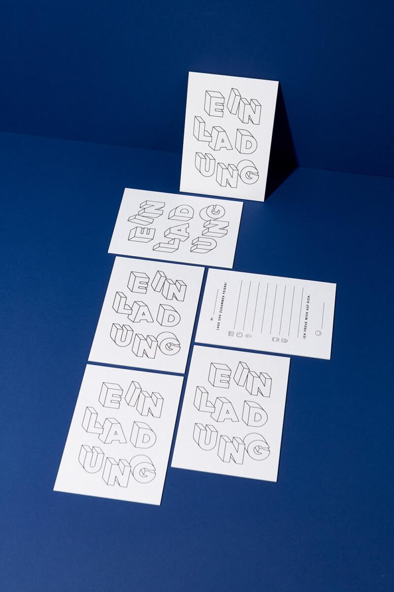 Einladungskarten Set