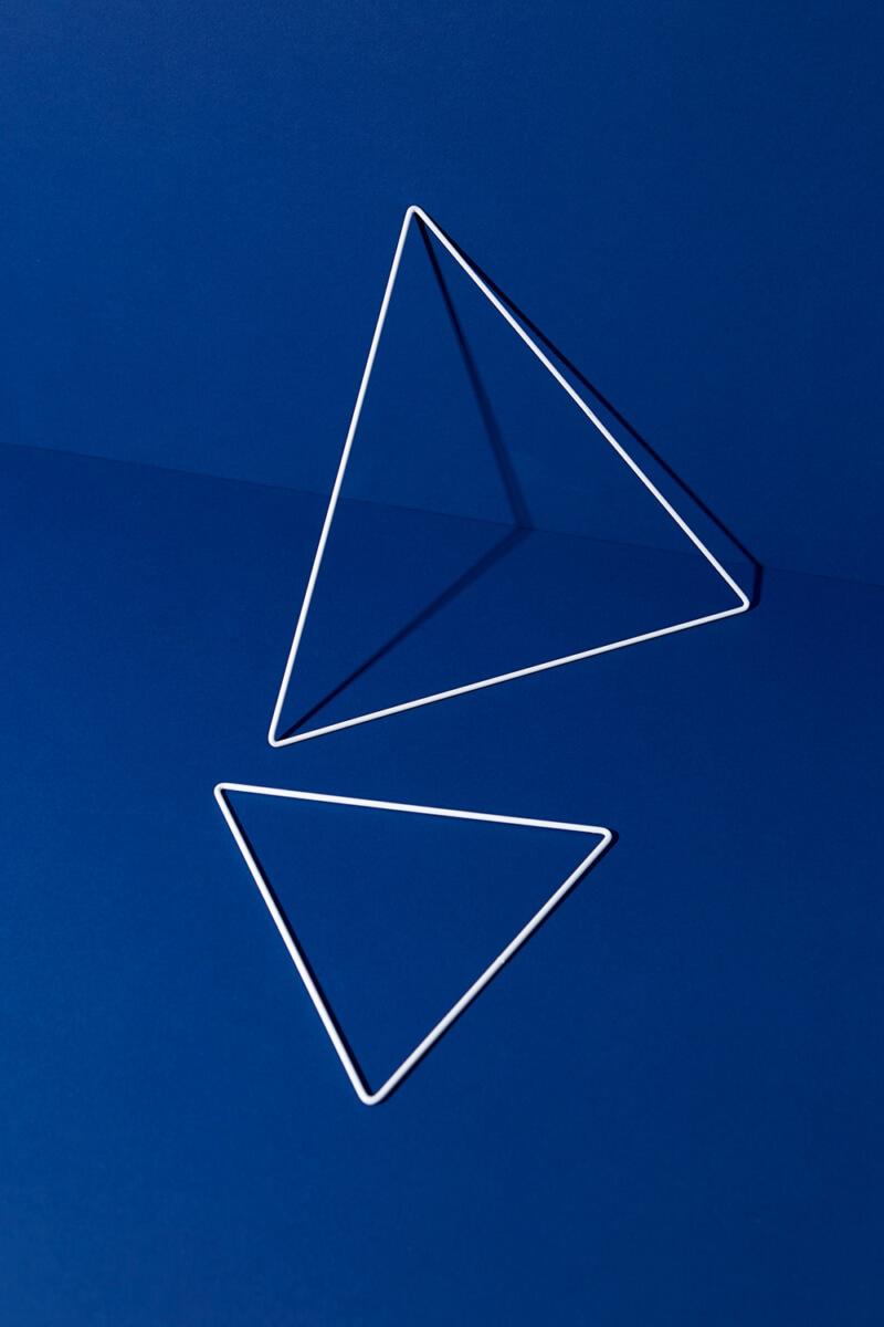 Metallring Dreieck