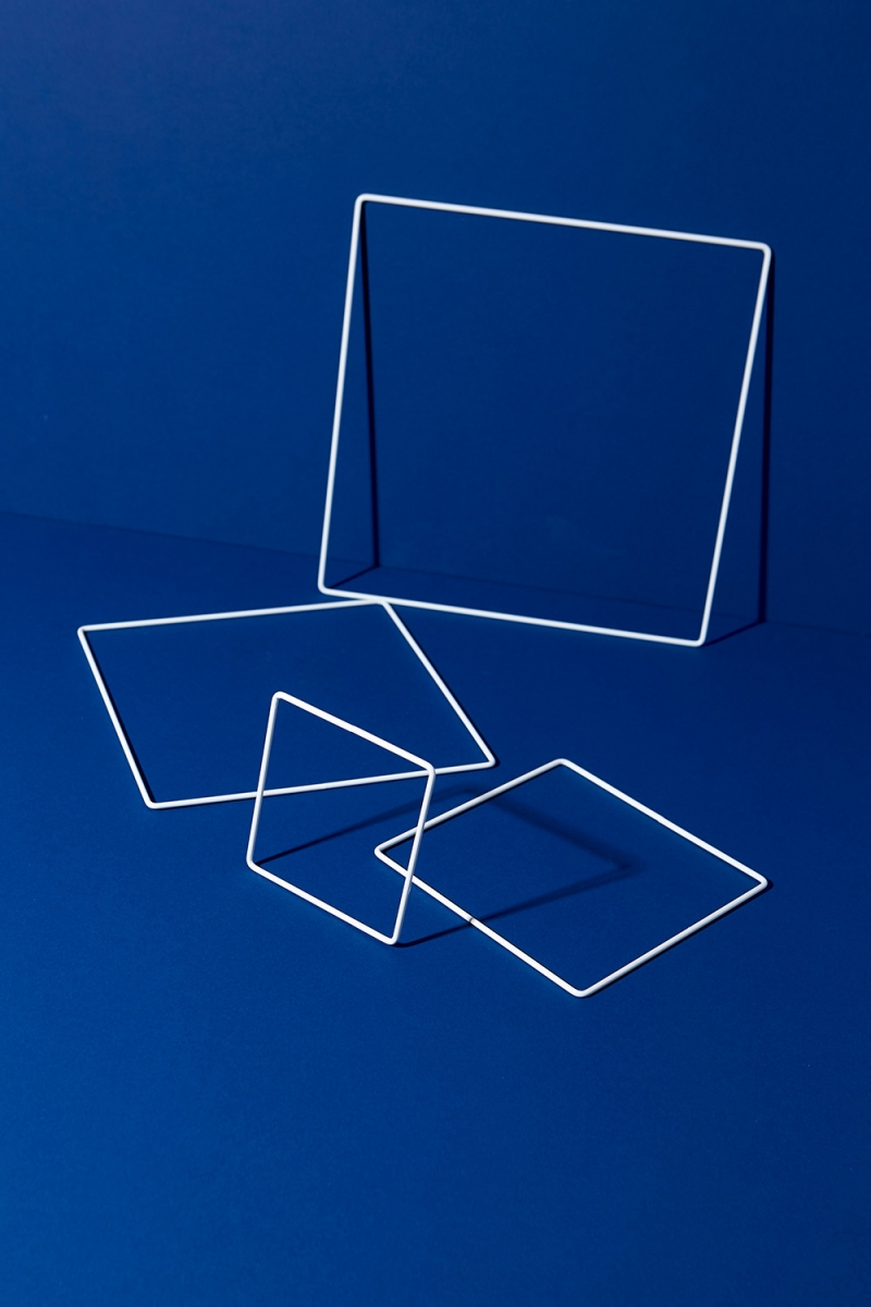 Metallring Quadrat