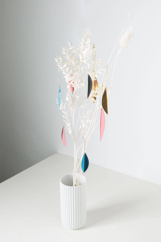 Minimalistische Weihnachtsdeko basteln
