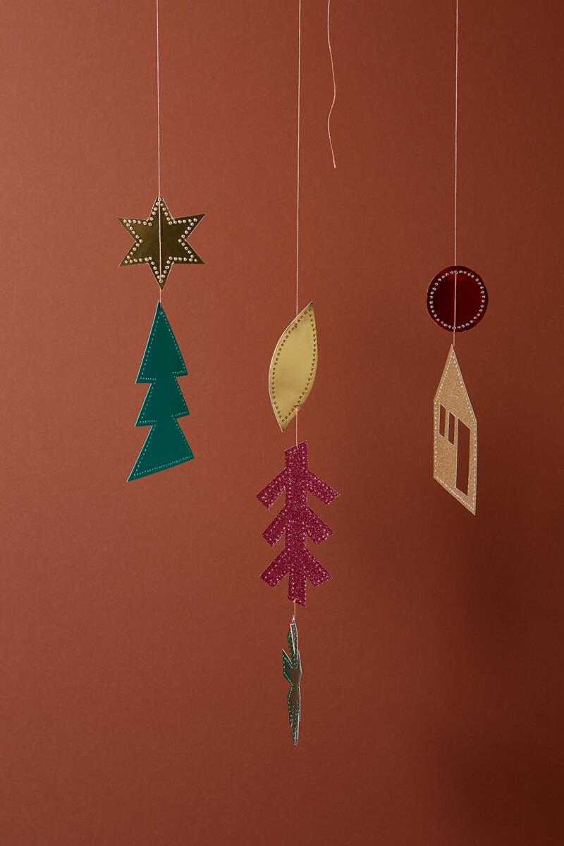 Prickelvorlage Weihnachten