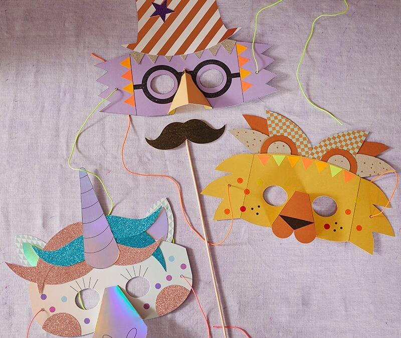 Basteln mit Kindern im Lockdown: 19 lustige Ideen gegen Langeweile