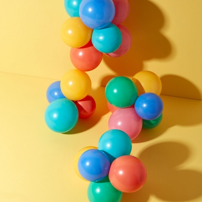 Miniballons Zirkusmix