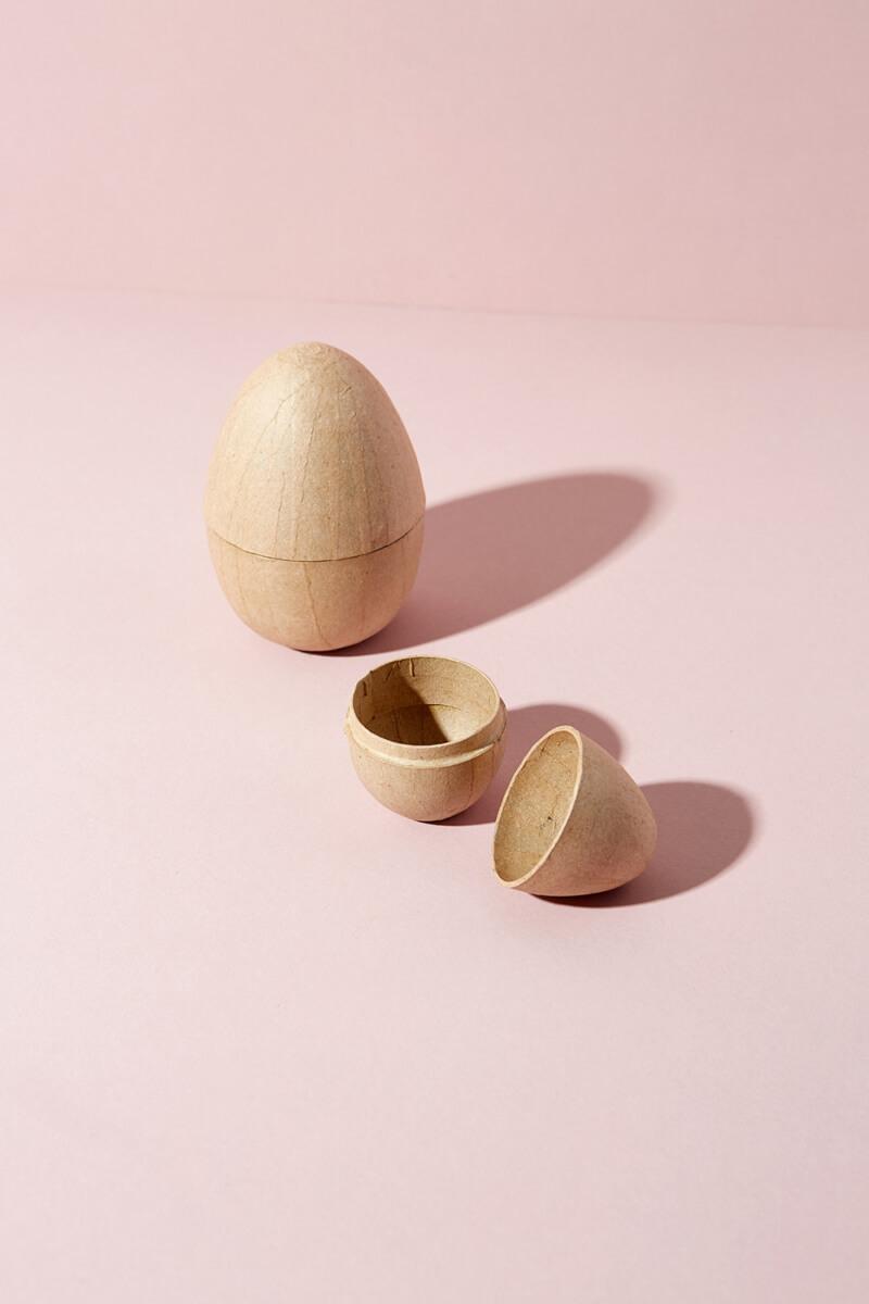 Pappmaché Eier
