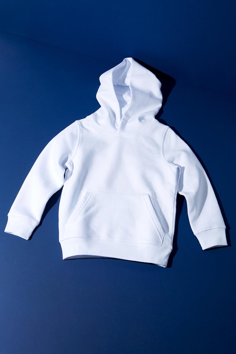 Kapuzen Sweatshirt Weiß Kinder