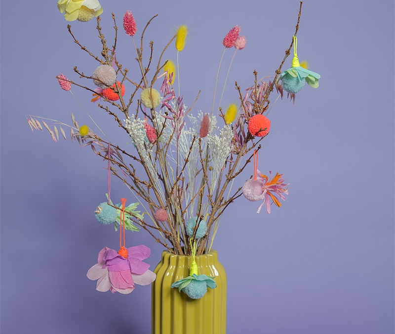 Mit bunten Frühlingsboten locken wir den Frühling an