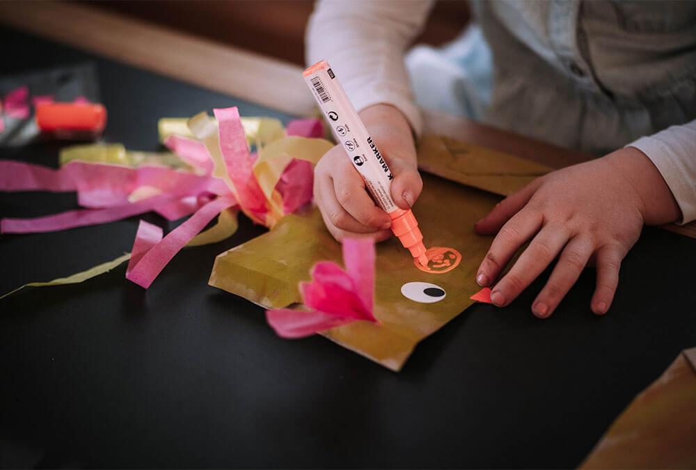 Ostergeschenke mit Kindern basteln