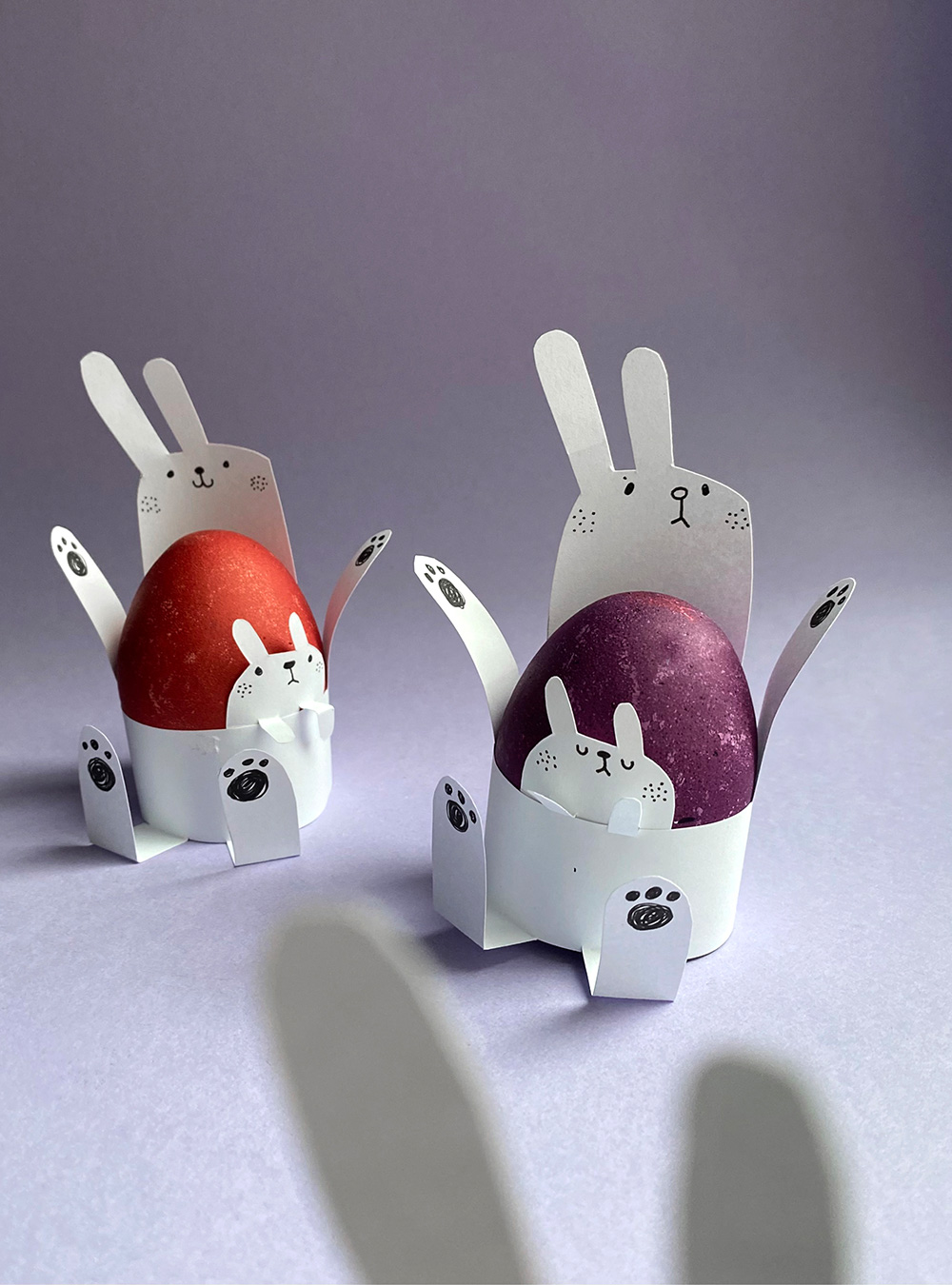Eierbecher basteln