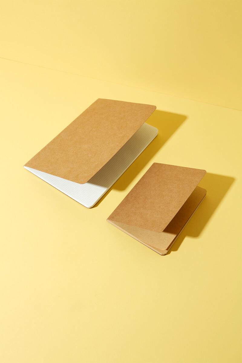Notizbuch Kraftpapier