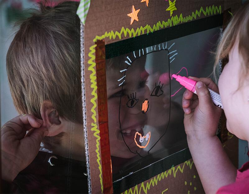 So lustig! Wie Kinder spielerisch leicht Portrait zeichnen lernen