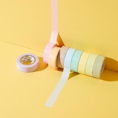 Masking Tape Pastellfarben