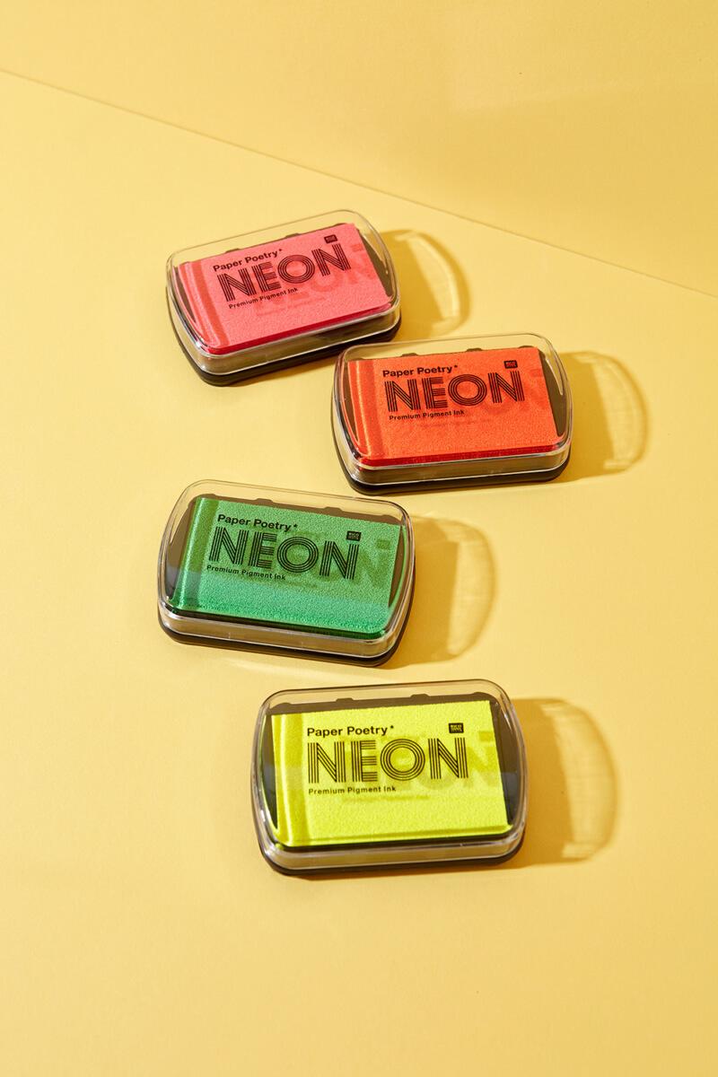 Pigmentstempelfarbe Neon