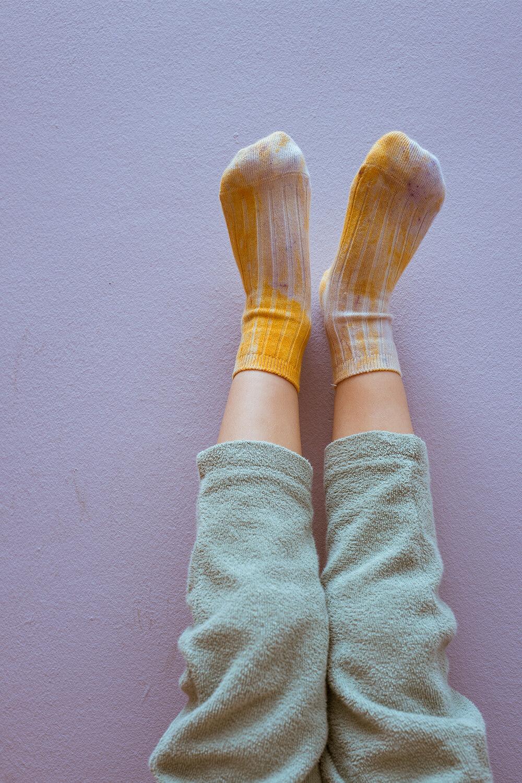 Socken Batik