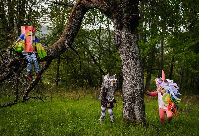 Tiere aus Papiertüten basteln