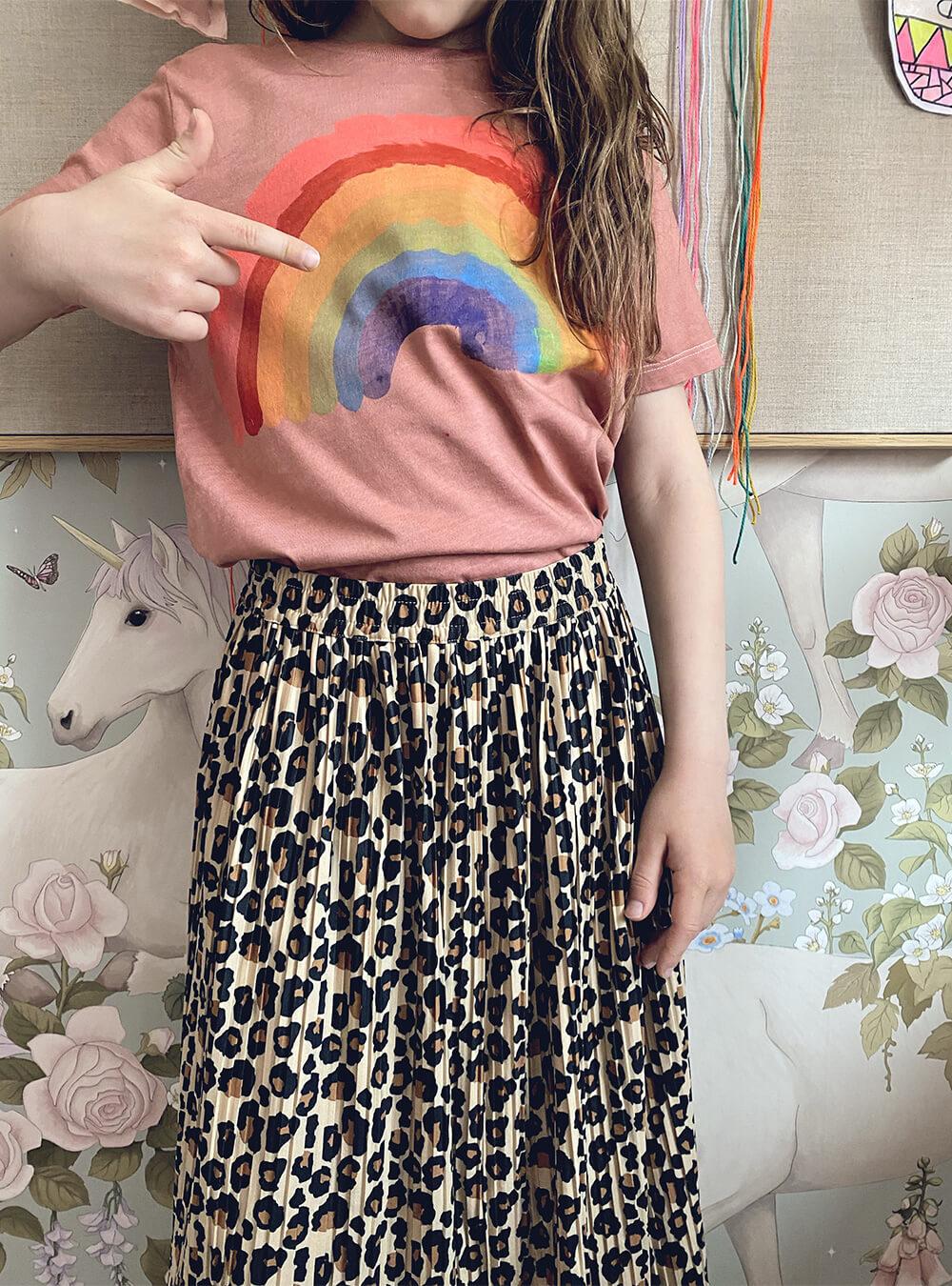 Regenbogenshirt