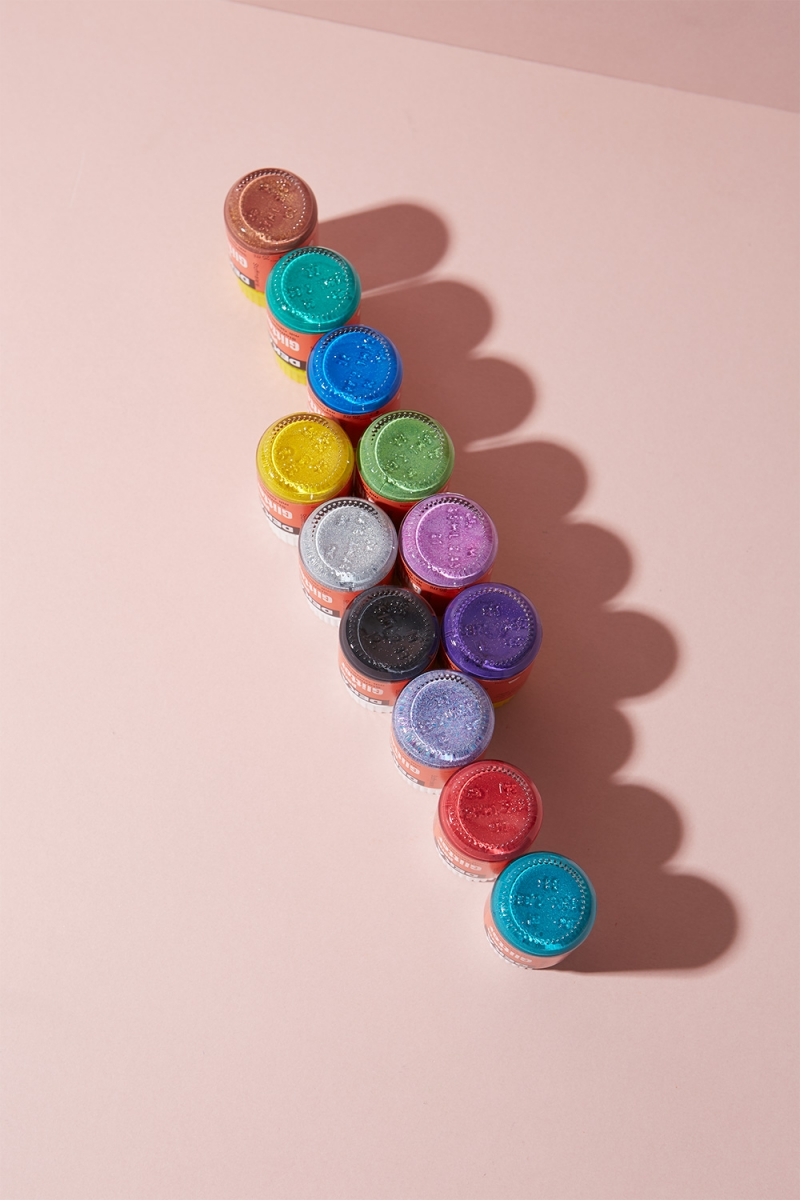 Stoffmalfarbe Glitter