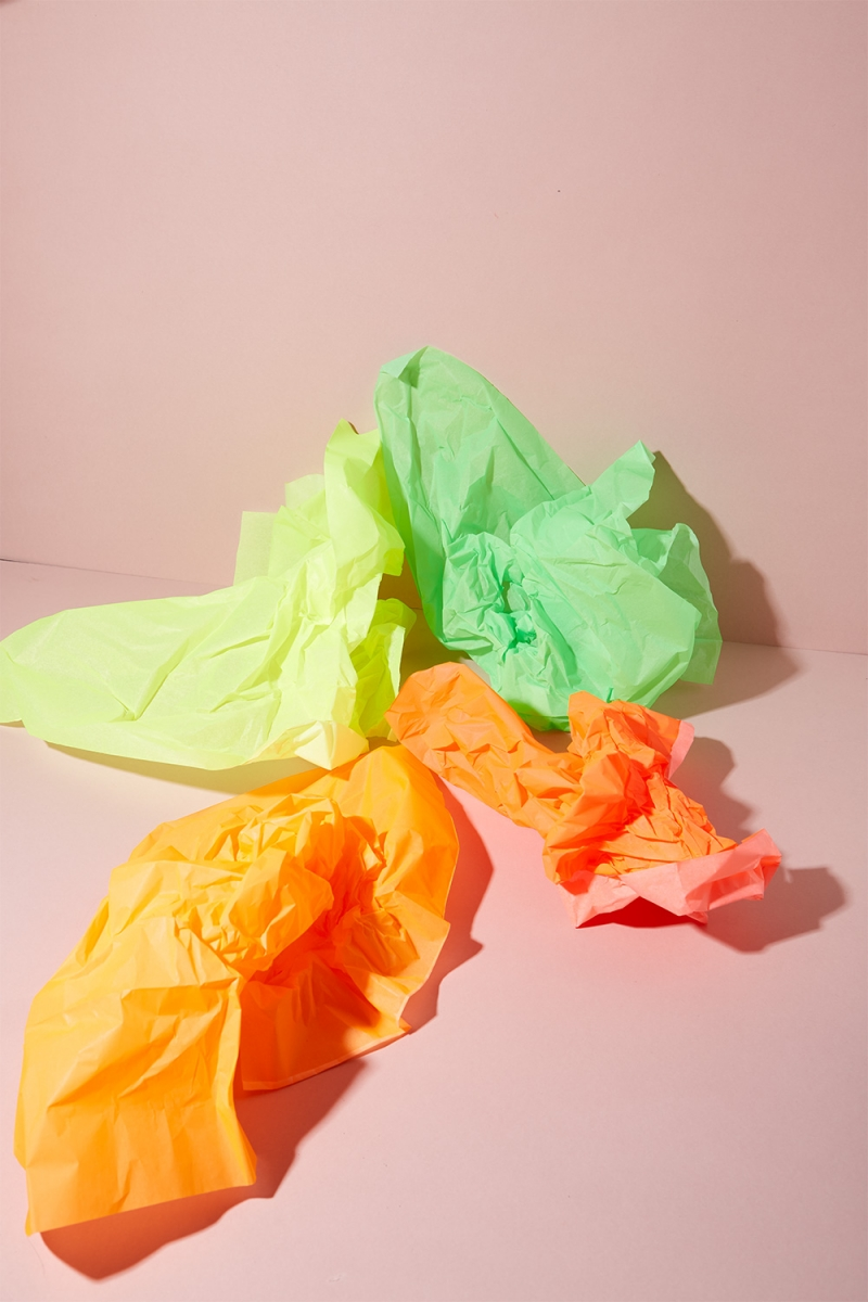 Seidenpapier Neon Mix