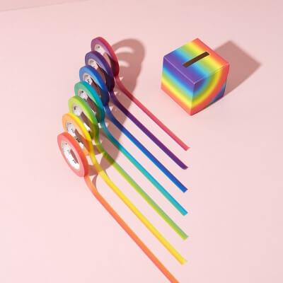 MT Masking Tape Rainbow