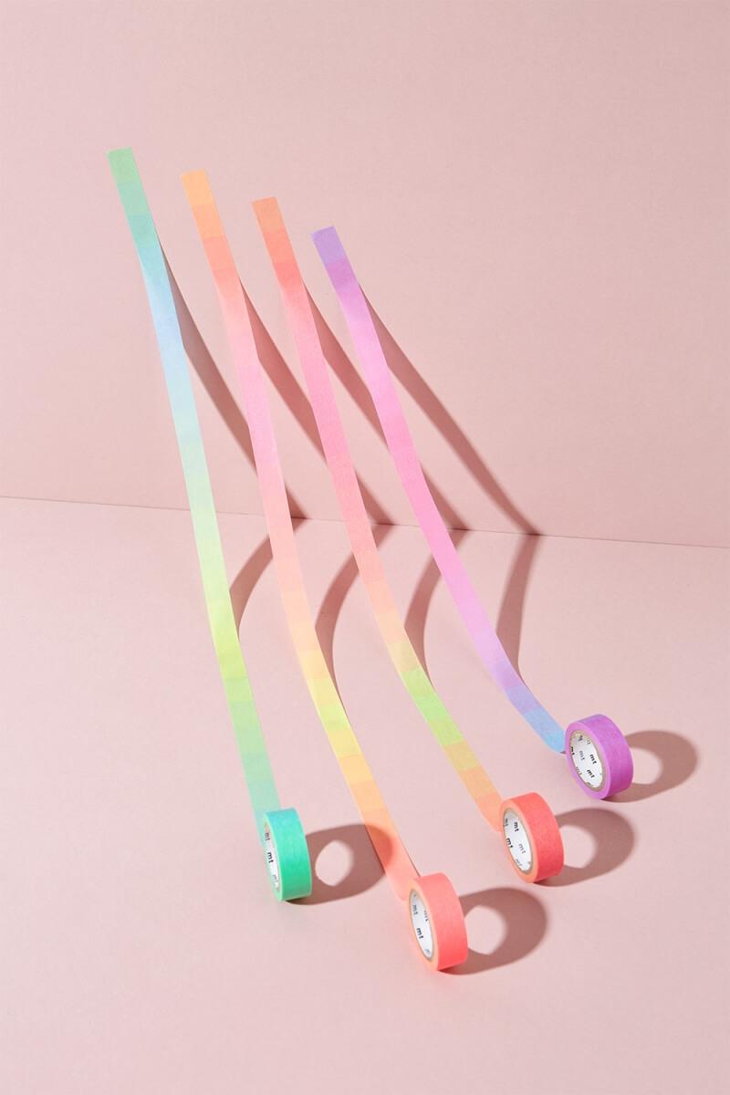 MT Masking Tape Fluorescent Gradation