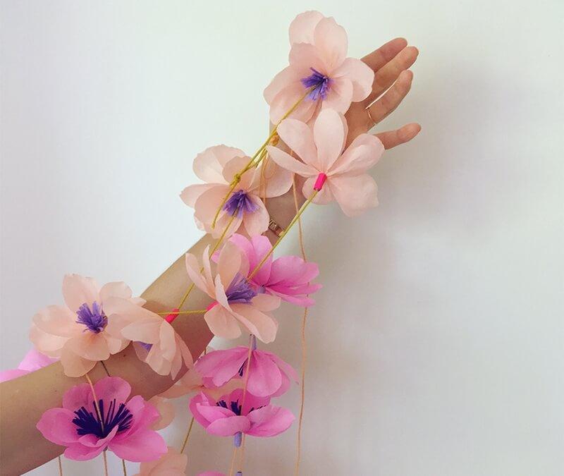 Aloha hoch Zwei! Step-by-Step zauberhafte Blumen Girlanden Basteln