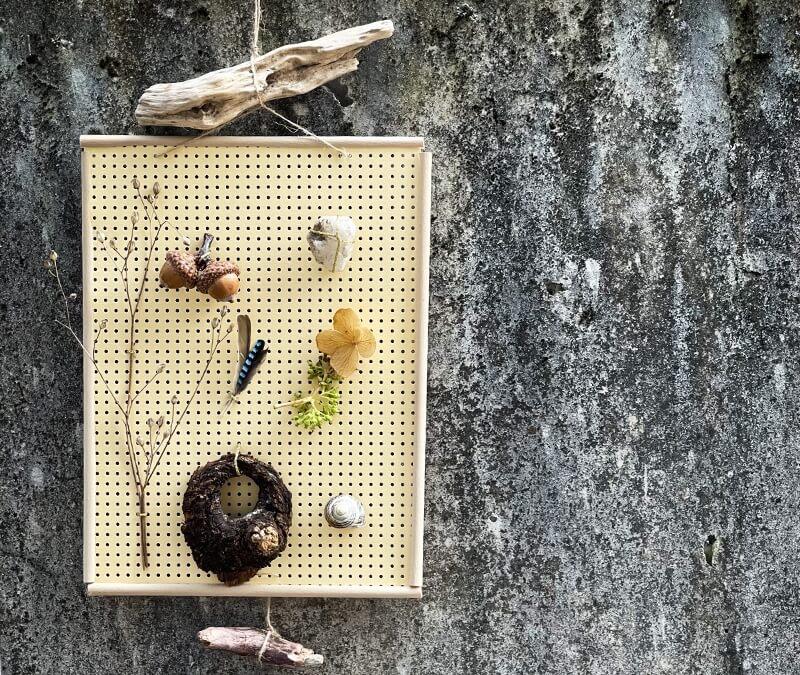 Naturbilderrahmen basteln – für die schönsten Schätze von Wald und Wiese