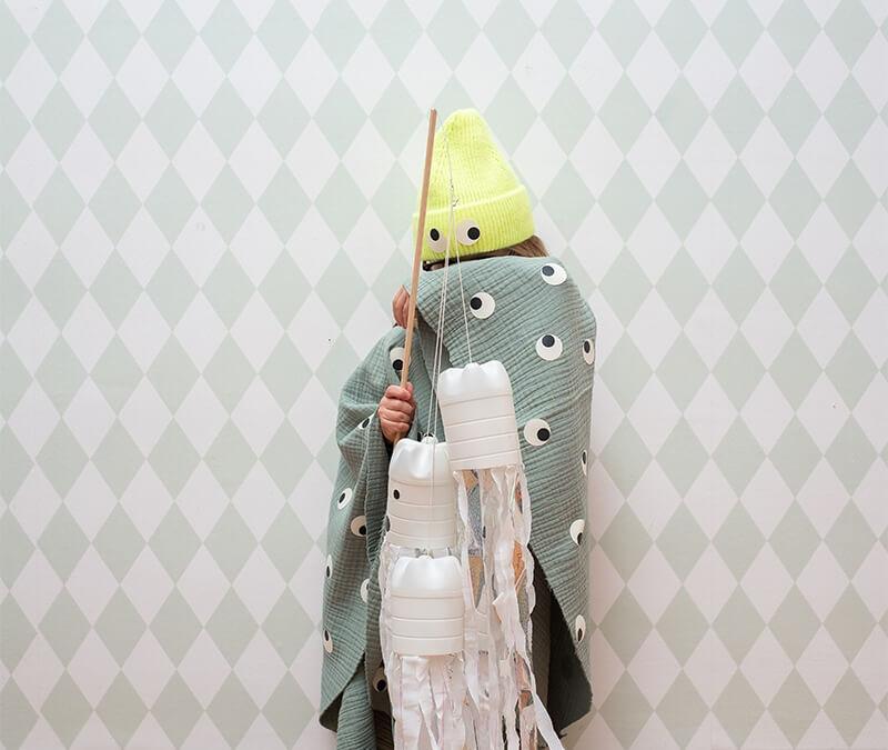 Halloween Kostüm basteln: Schneller und  lustiger geht's nicht!